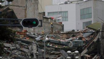 El sismo del 19 de septiembre causo daños en inmuebles