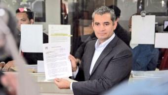 PRI renuncia ante el INE al financiamiento público