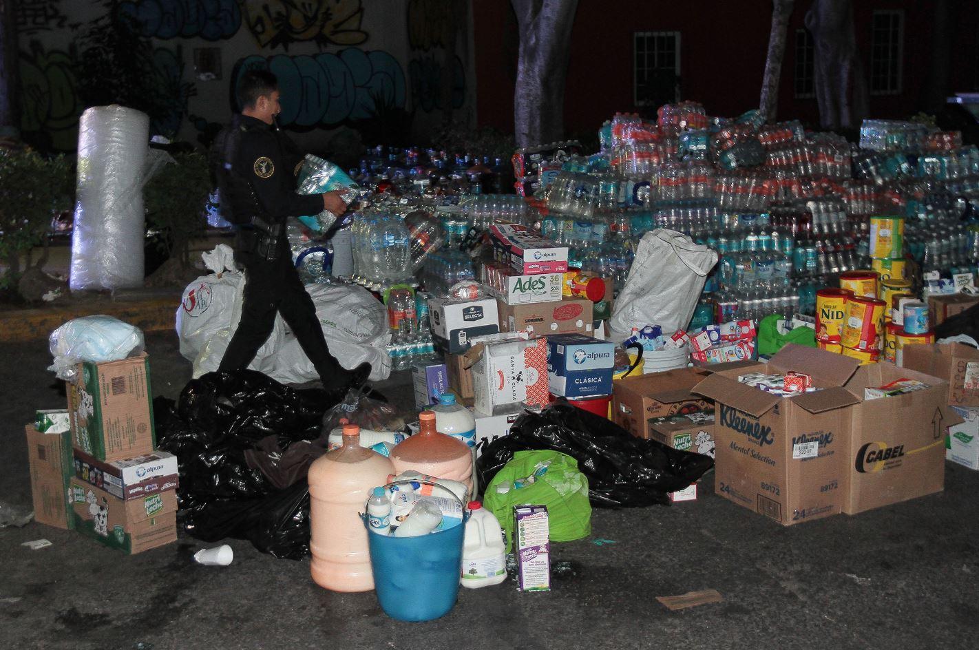 Prioriza Cruz Roja la ayuda a damnificados por el sismo