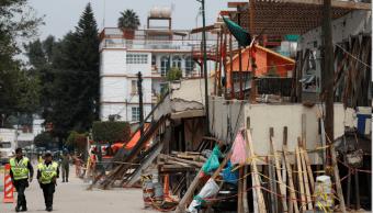 Escombros del colegio Enrique Rebsamen de la CDMX tras sismo