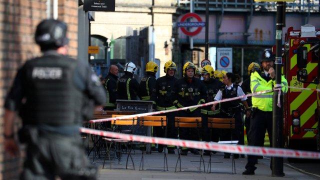 explosion tren subterraneo londres deja heridos