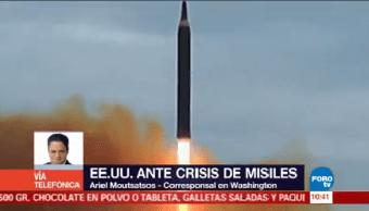 Eu Ante Crisis Misiles Corea Norte Washington Ariel Moutsatsos