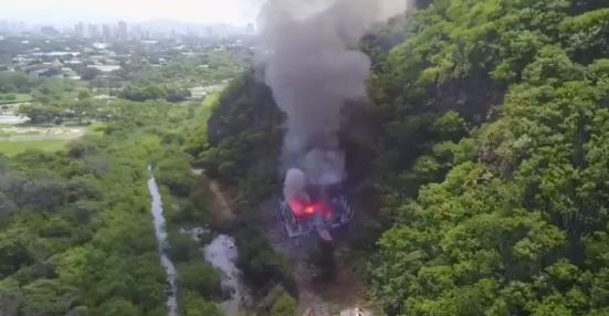 Desalojan miles explosion bodega ejercito Colombia