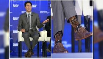 Justin Trudeau causó polémica con sus calcetines de Chewbacca