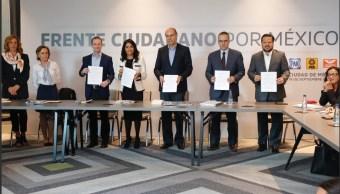 Colectivos entregan a la Jucopo propuestas para Fiscalía autónoma