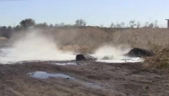 10 mil litros de combustible se derraman por una toma clandestina