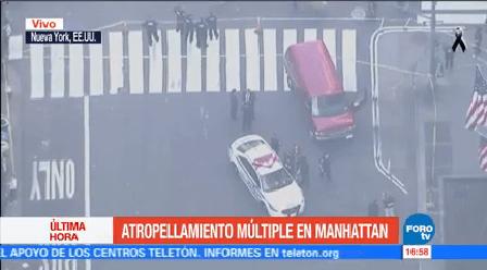 Furgoneta Atropella Varios Peatones Nueva York