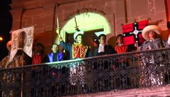 Huichapan, Hidalgo, revive el primer Grito de Independencia