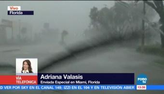 Huracán Irma Baja Categoría 3 Florida