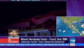 Huracán 'Katia' podría debilitarse en las próximas horas
