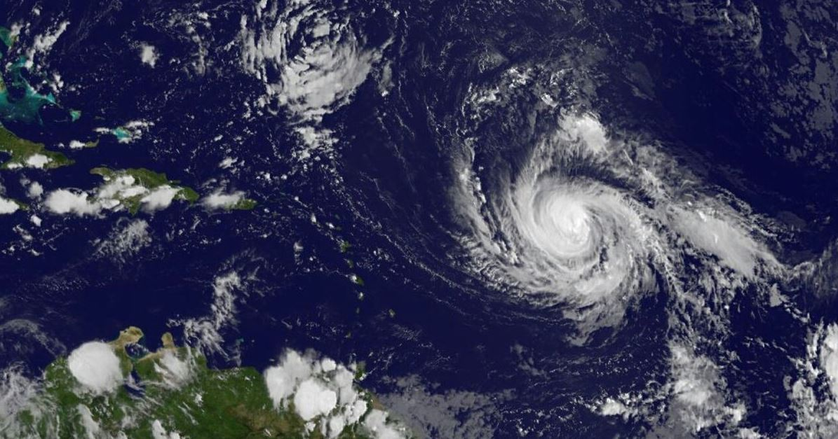 Huracán Irma llega a máxima categoría 5