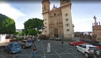 Iglesia Santa Prisca cerrada daños sismo