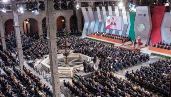Peña Nieto Ofrece Mensaje Quinto Informe De Gobierno Presidente Enrique Peña Nieto