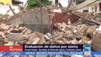 Inicia Censo Casas dañadas Oaxaca