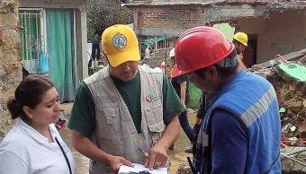 Inicia censo de viviendas afectadas en Morelos
