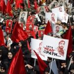 Irán realiza funeral masivo a soldado decapitado por el EI en Siria