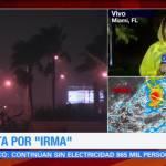 'Irma' no impactará en Miami pero continúan sus efectos