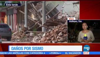 Ixtaltepec Oaxaca en espera del apoyo humanitario