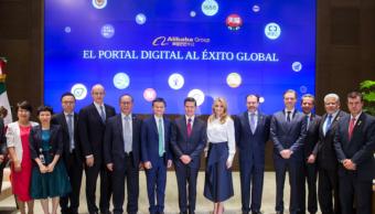 Jack Ma, fundador de Alibaba, se reúne con Enrique Peña Nieto