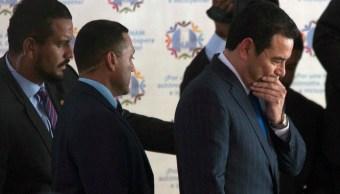 Investigan a Jimmy Morales, presidente de Guatemala