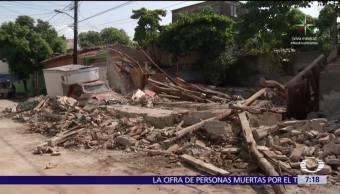 Juchitán, recupera, sismo, intenso