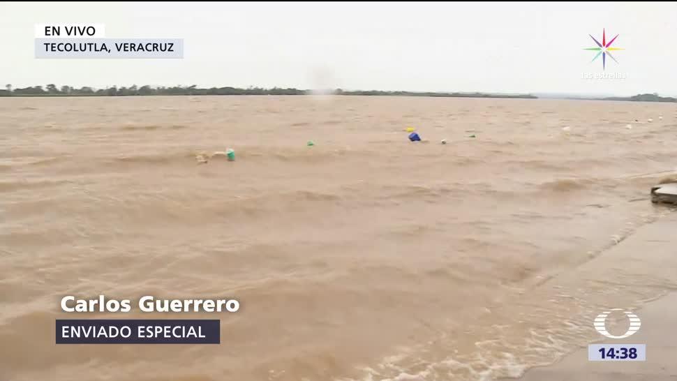 Katia Dirige Tierra Firme Veracruz Huracán