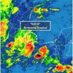 katia se debilita tormenta tropical veracruz