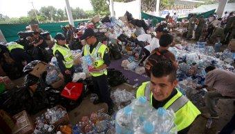 La Cruz Roja Mexicana agradece a voluntarios