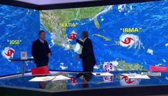 trayectoria, huracán, Katia, México