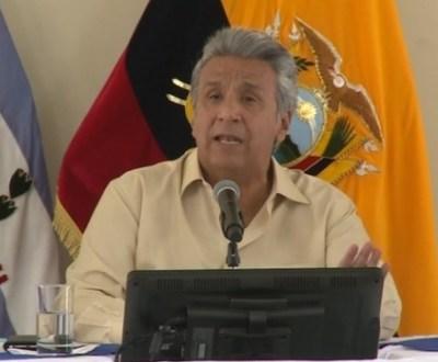 Lenín Moreno acusa de espionaje al expresidente de Ecuador, Rafael Correa