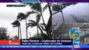 Levantan Toques Queda Huracán Irma