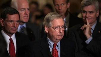 Líder republicano en el Senado de EU descarta voto para derogar Obamacare