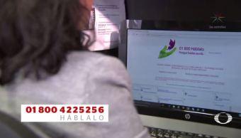 linea telefonica hablalo apoyo victimas violencia