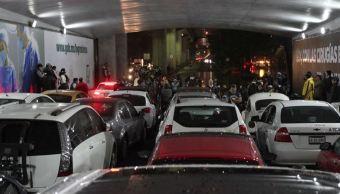lluvia causa encharcamientos vialidades ciudad mexico