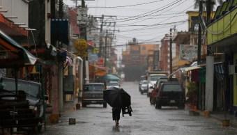 Huracan Katia toca tierra Tecolutla Veracruz