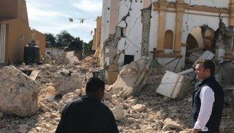 localidad de xochiteopan queda devastada tras sismo del 19 de septiembre