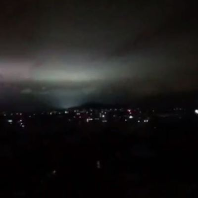 ¿Luces de terremoto en CDMX durante sismo?