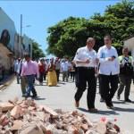 Ayuda humanitaria está llegando a damnificados