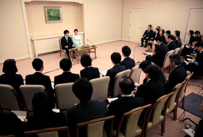 La princesa Mako de Japón, anunció oficialmente su compromiso con el plebeyo Kei Komuro
