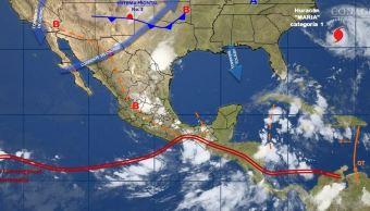 mapa con el clima para este 26 de septiembre