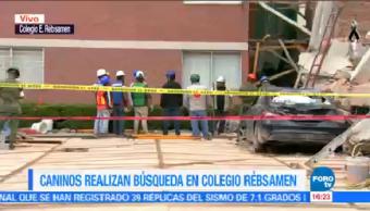 Marina Continúa Trabajos Remoción Escombros Colegio Rébsamen