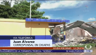 500 Personas Albergues Tonalá Chiapas Tras Sismo