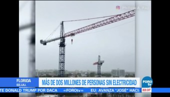 Dos Millones Personas Electricidad Florida Irma