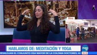 Meditación y yoga para conservar la calma tras sismo