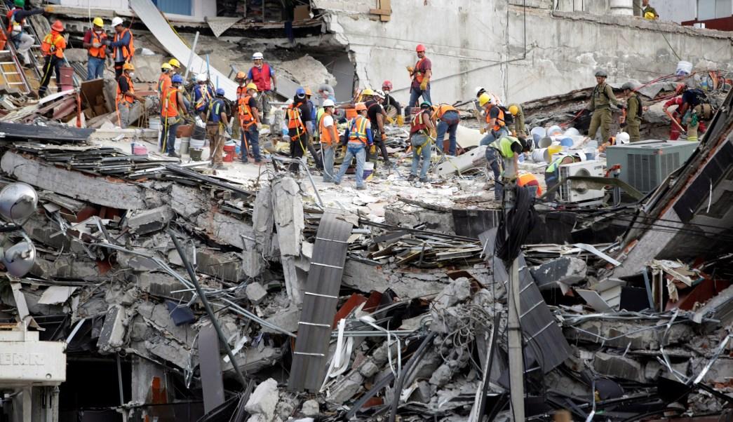México continua con la evaluación económica del sismo