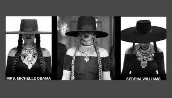 Michelle Obama y Serena Williams personofican a Beyoncé