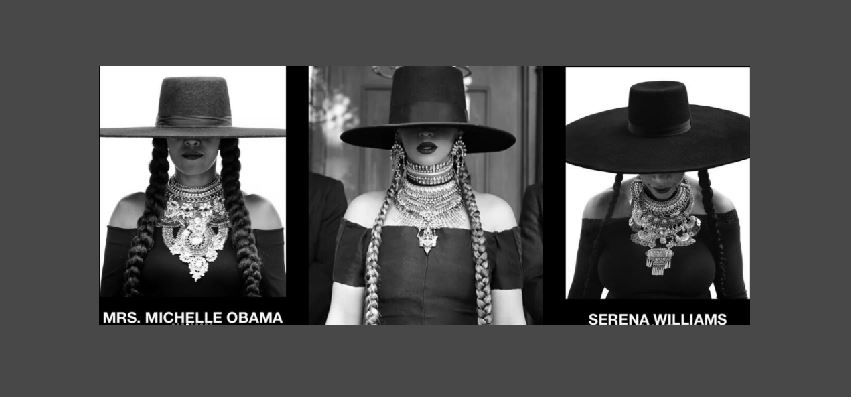 Michelle Obama y Serena Williams personofican a Beyoncé