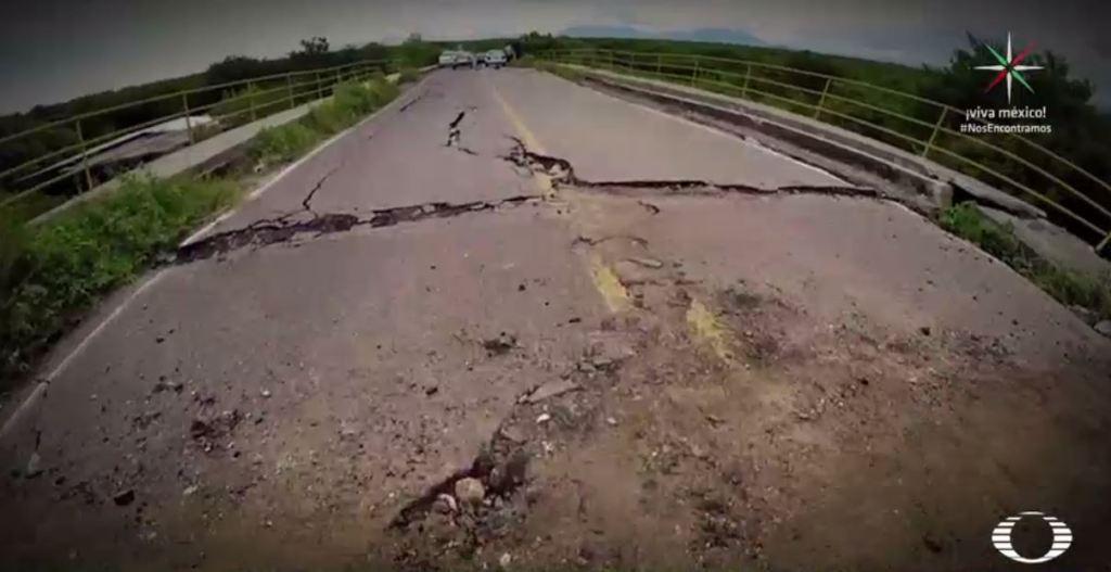 Mixtequilla, Unión Hidalgo y Chicapa de Castro, otros municipios oaxaqueños afectados por el sismo. (Noticieros Televisa)