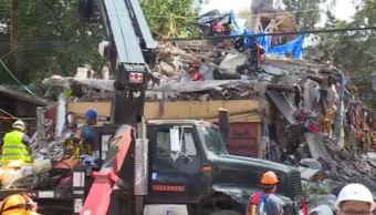 Familias son evacuadas del multifamiliar de Tlalpan tras sismo del 19 septiembre