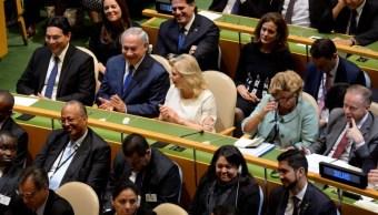 """Netanyahu elogia """"audaz y valiente"""" discurso de Trump en la ONU"""